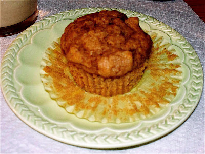 Banana-Apple-Date Muffins