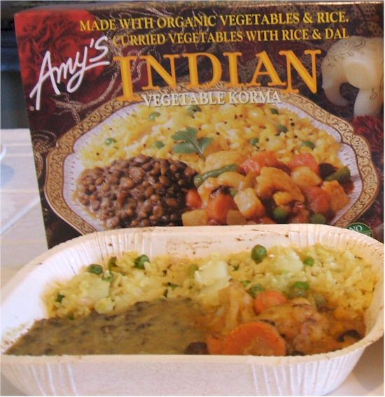 Amy's Indian Meals