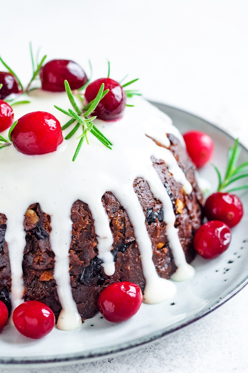 Dairy-Free Gluten-Free Christmas Pudding Recipe by a British Chef
