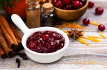 Quick and Easy Spiced Cranberry Sauce Recipe - naturally dairy-free, vegan, allergy-friendly, and flavorful - just 15 minutes!