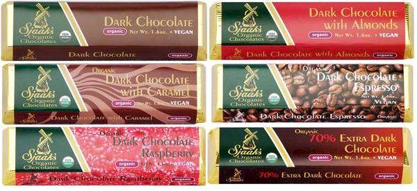 Sjaak's Vegan Dark Chocolate