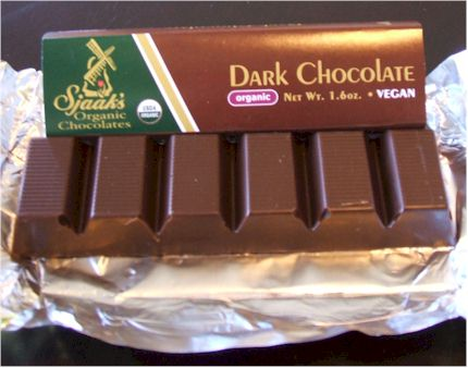 Sjaak's Organic Chocolate Bars Review - all vegan, dairy-free and fair trade (dark and milk varieties)