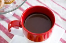 Rich Vegan Hot Chocolate Recipe with a Double Dose of Dairy-Free Chocolate (also top food allergy-friendly)