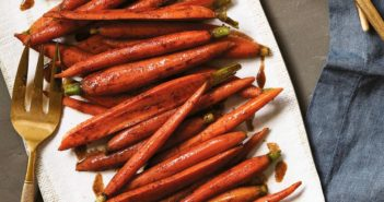 Maple-Glazed Carrots Recipe with Warm Spices - dairy-free, vegan, gluten-free, allergy-friendly, paleo-friendly, fast, easy and delicious!