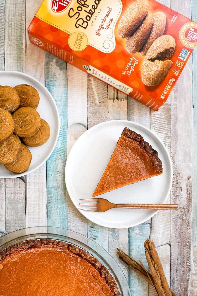 Gingerbread Pumpkin Pie Recipe (Vegan, Gluten-free & Allergy-friendly!)