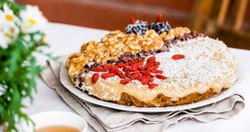 Raw Vegan Fruitcake Recipe - naturally dairy-free, gluten-free, grain-free, soy-free, and healthy!