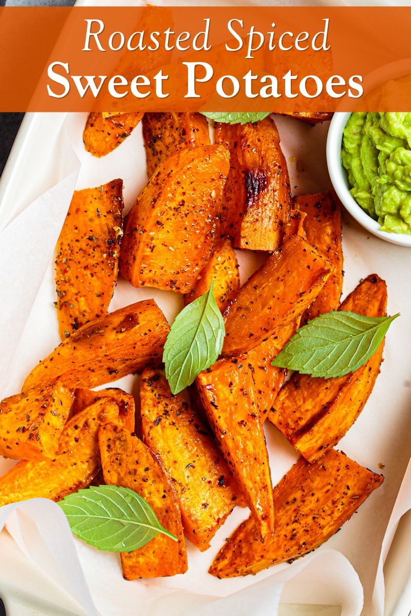 Restaurant-Worthy Roasted Spiced Sweet Potatoes Recipe - vegan, dairy-free, gluten-free, and allergy-friendly