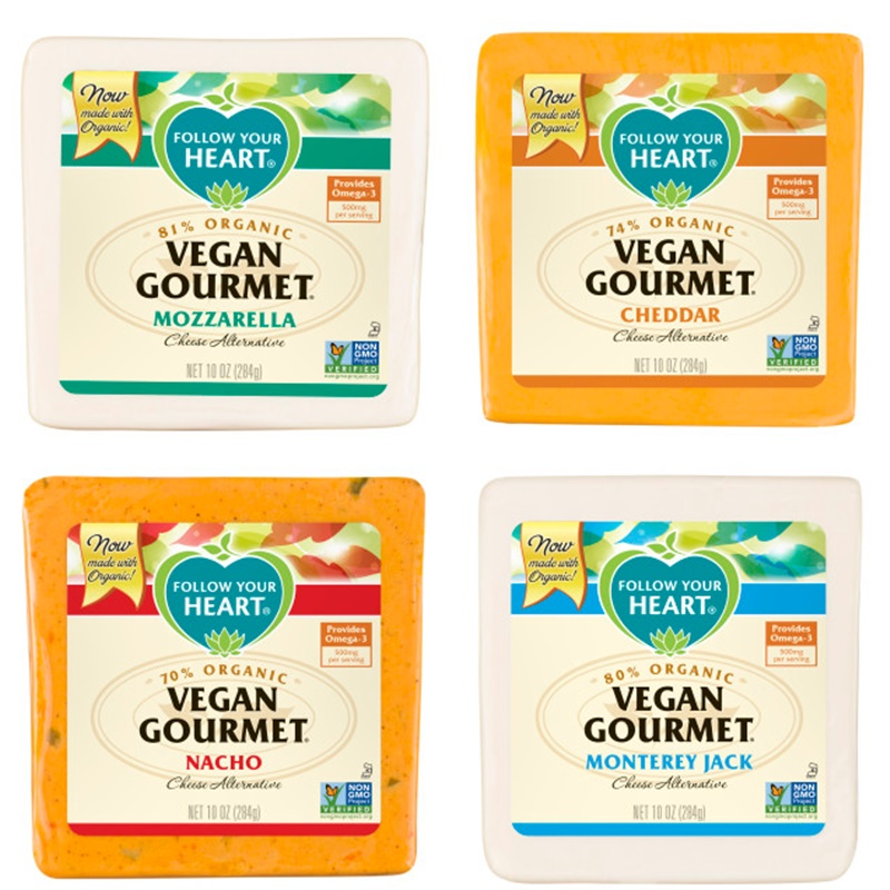 Vegan Gourmet Cheese Alternative by Follow Your Heart (Review) - Non-GMO Verified & made with Organic Soy