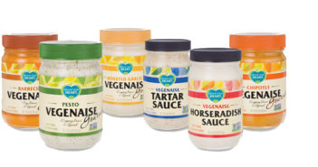 Vegenaise - dairy-free, egg-free, vegan mayonnaise that's available in a variety of flavors and is just as thick and creamy as regular mayo!