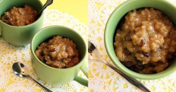 Vegan Eggnog Rice Pudding Recipe