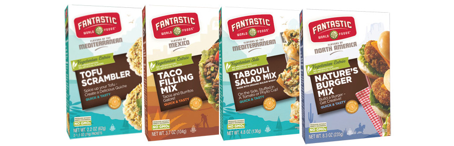 Fantastic Foods Nature Burgers