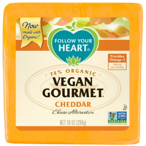 Vegan Gourmet Cheese Alternative by Follow Your Heart - reviews and info (dairy-free, vegan, gluten-free, nut-free, soy-based)