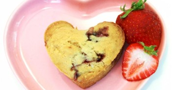 Strawberry Love Muffins (dairy-free + vegan recipe)