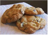 Ginger Tollhouse Cookies