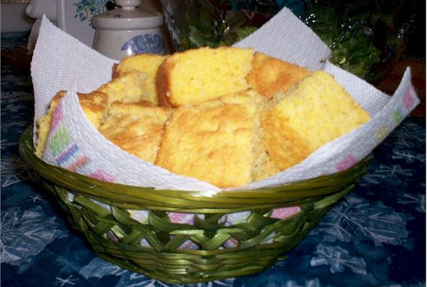 Little Bay Baking Corn Bread