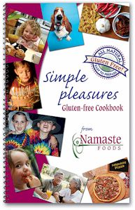 Namaste Simple Pleasures Cookbook