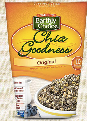 Chia Goodness (review) - simple dairy-free, vegan, whole foods cereal alternative.