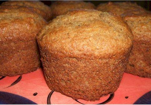 Chia Banana Muffins