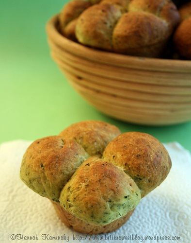 Vegan Four-Leaf Clover Rolls