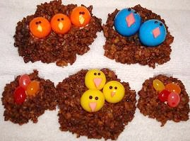 Allergy-Free Easter Egg Nests