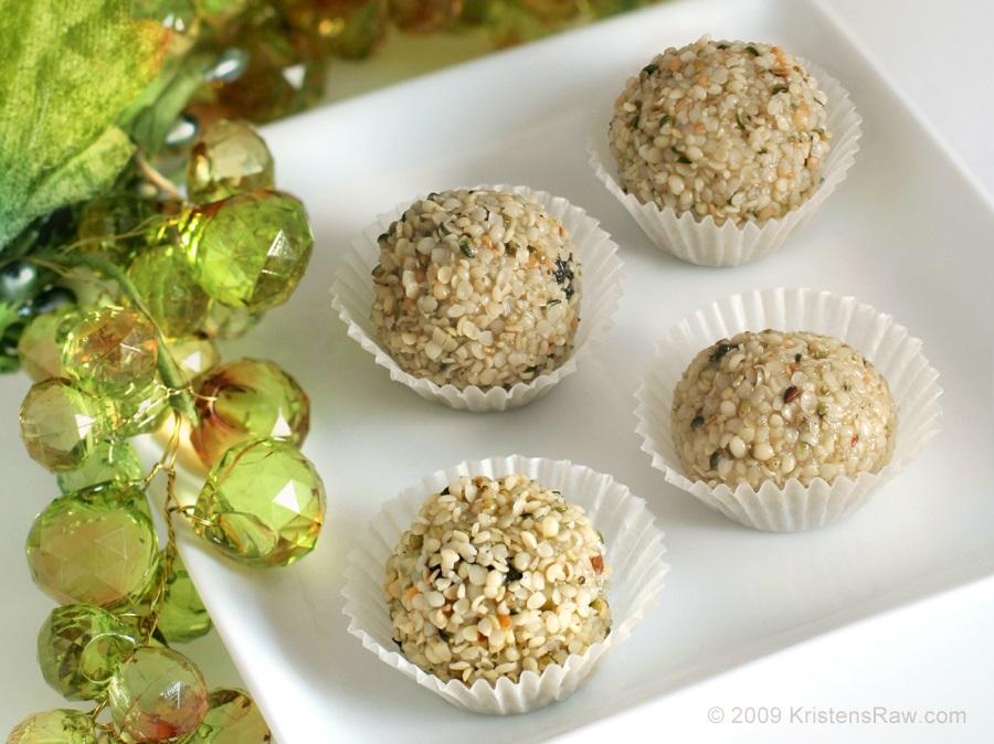 Sweet Dreams Healthy Raw Hemp Cookies Recipe (dairy-free, gluten-free, vegan)