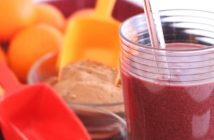 Healthy Hemp Red Sunset Smoothie by Chef Kristen Suzanne