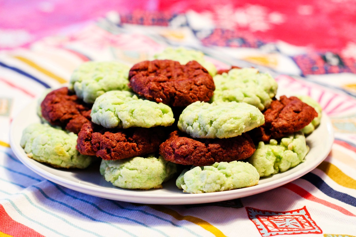 Dairy-Free Pudding Cookies Recipe - Easy and just 4 Ingredients! (Chocolate and Pistachio Flavors Pictured)