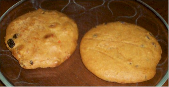 Nutritious Creations Carrot Cake Cookies
