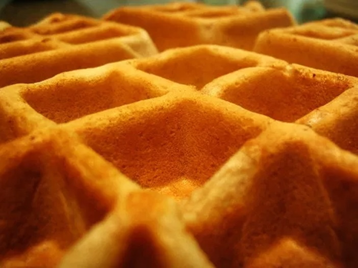 Sweet Vegan Wheat Waffles Recipe - a little wholesome, but wonderfully sweet and fluffy! Dairy-free, egg-free, nut-free, and optionally soy-free.