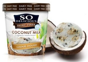 So Delicious Dairy Free Coconut Milk Ice Cream - Cookie Dough