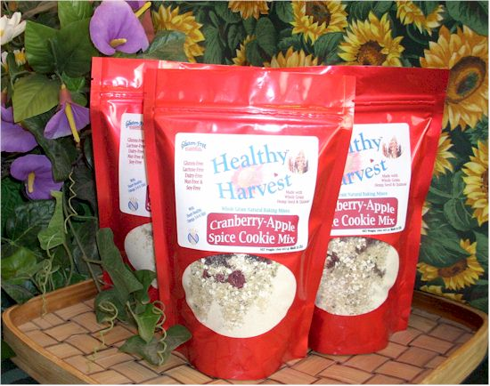Gluten-Free Essentials Healthy Harvest Hemp Cookies
