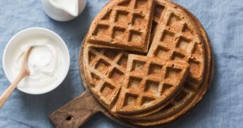 Gluten-Free Vegan Buckwheat Waffles Recipe - Overnight, Yeast-Raised, and Delicious!