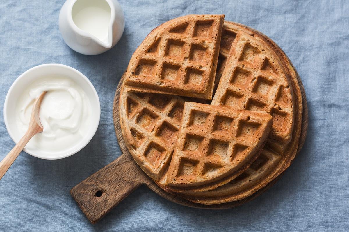Gluten-Free Vegan Buckwheat Waffles Recipe - Overnight, Yeast-Raised, and Delicious!