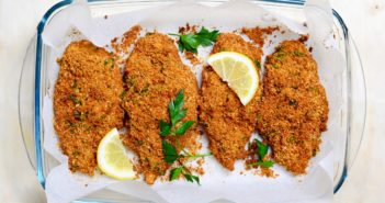 Allergy-Friendly Oven-Fried Chicken Recipe - Dairy-free, egg-free, nut-free and optionally gluten-free.