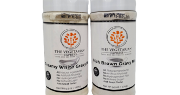 The Vegetarian Express Gravy Mixes are Dairy-Free and Vegan