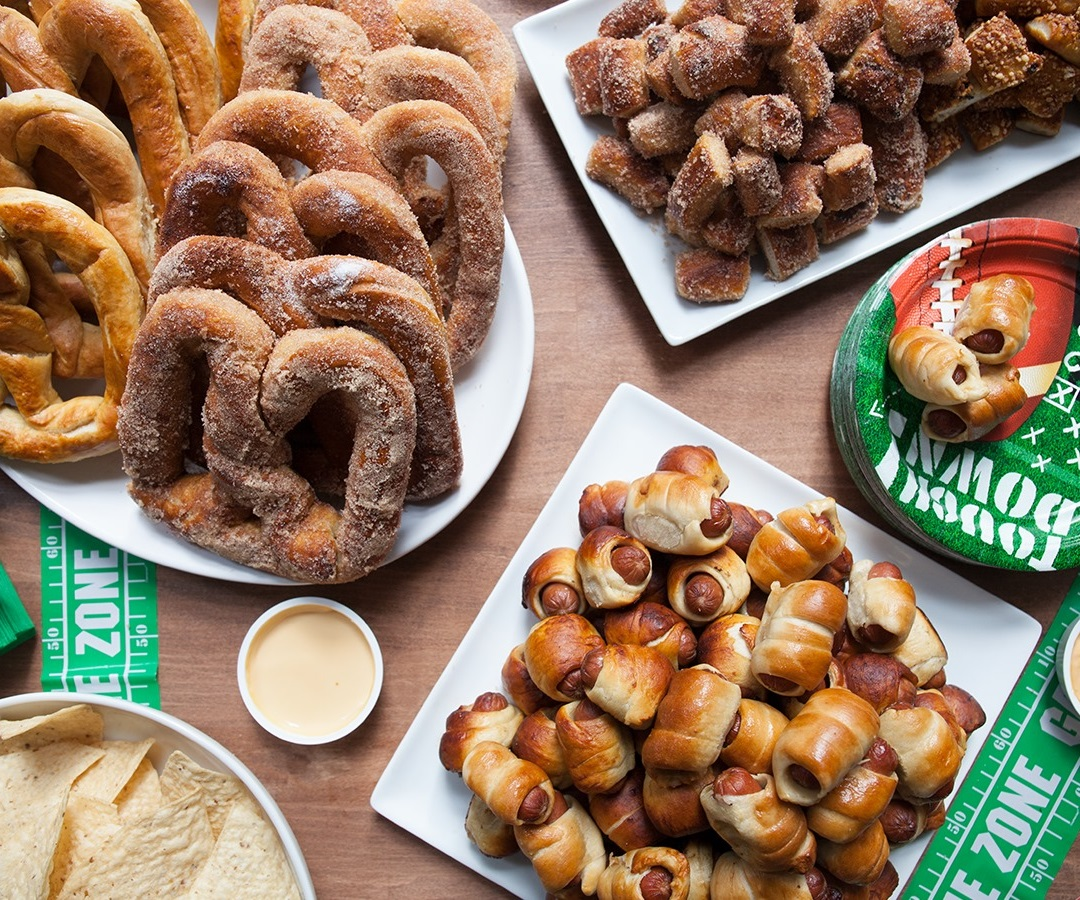Auntie Anne's Dairy-Free Menu Items (Vegan Options also Listed)