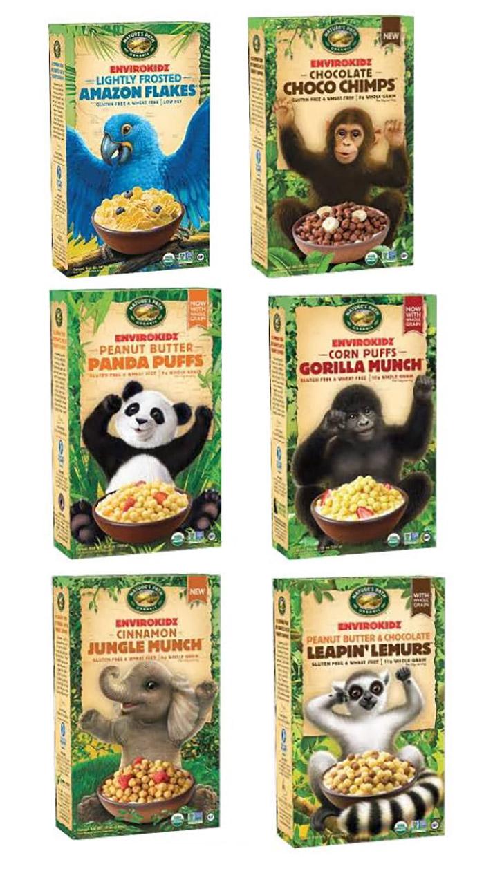 Envirokidz - dairy-free, vegan, gluten-free, organic cereals for kids!