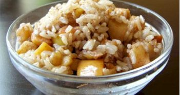 Nutty Apple Rice
