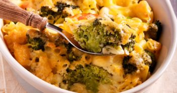Anne's Gluten-Free Dairy-Free Mac 'n Cheese Casserole Recipe with Vegetables (also plant-based and vegan)