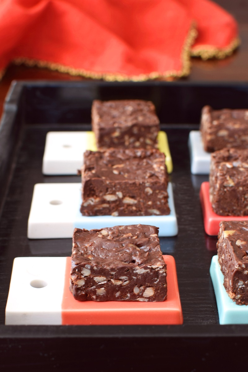 No-Bake Brownie Fudge Bites Recipe - allergy-friendly, gluten-free & vegan optional!