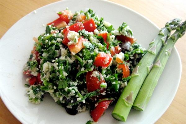 Grain-Free, Raw, and Vegan Cauliflower Couscous