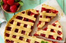 Vegan Fresh Strawberry Pie Recipe - naturally dairy-free, egg-free, nut-free, and optionally soy-free