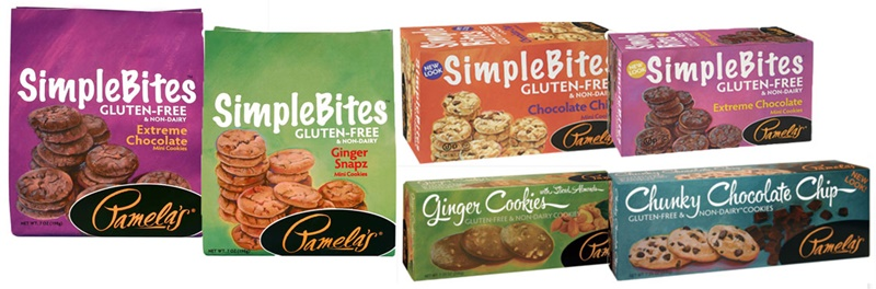 Pamela's SimpleBites Mini Cookies - Gluten-free, Review of Non-Dairy Varieties