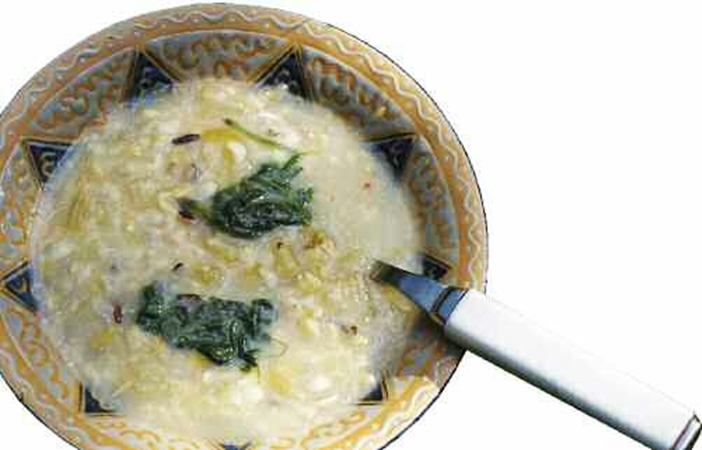 Celery Rice Soup with Lemongrass Recipe - plant-based, gluten-free, allergy-friendly, amazing flavor!
