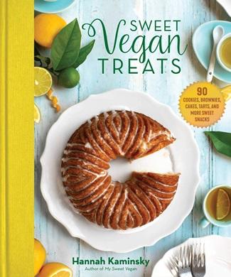 Vegan Cashew Crème Pear Tart Recipe (also Gluten-Free!) A delicious sample from Sweet Vegan Treats by Hannah Kaminsky.