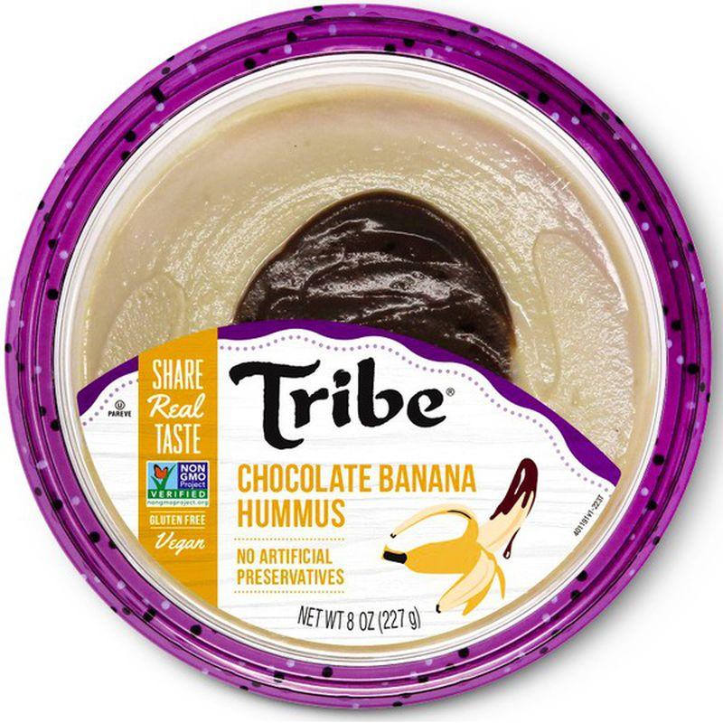 Tribe Chocolate Banana Hummus