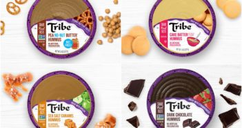 Tribe Dessert Hummus Reviews and Info - dairy-free, plant-based, gluten-free, nut-free, and soy-free! Four flavors. Pictured: All