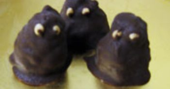 Chocolate Halloween Hobgoblins Recipe - Dairy-free, Gluten-free, Nut-free, and Allergy-friendly (fun for kids!)