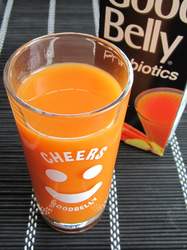 GoodBelly Carrot Ginger Probiotic Juice Drinks (Vegan, Dairy-Free, Gluten-Free, Soy-Free)