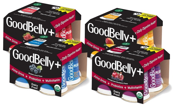 GoodBelly Probiotic Fruit Juice Drinks + Fortified